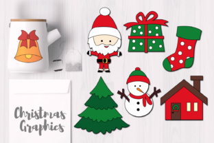 Christmas Simple Objects Graphic By Revidevi