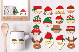 Christmas Smile Graphic By Revidevi