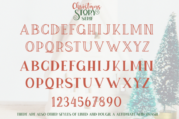 Print on Demand: Christmas Story Script & Handwritten Font By Pasha Larin - Image 11