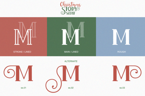 Christmas Story Font Preview