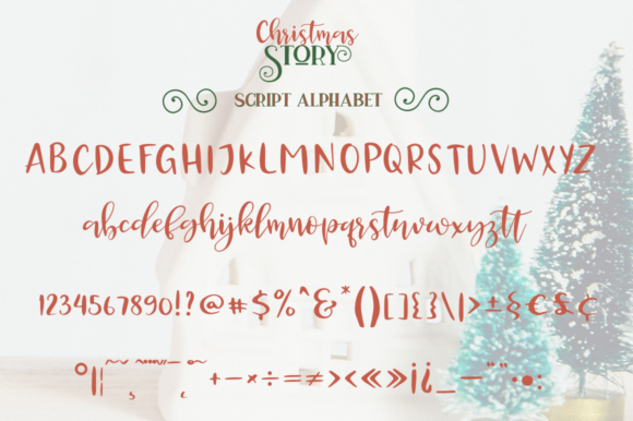 Christmas Story Font Font
