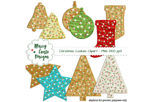 Christmas Sugar Cookies Graphic By MarcyCoateDesigns