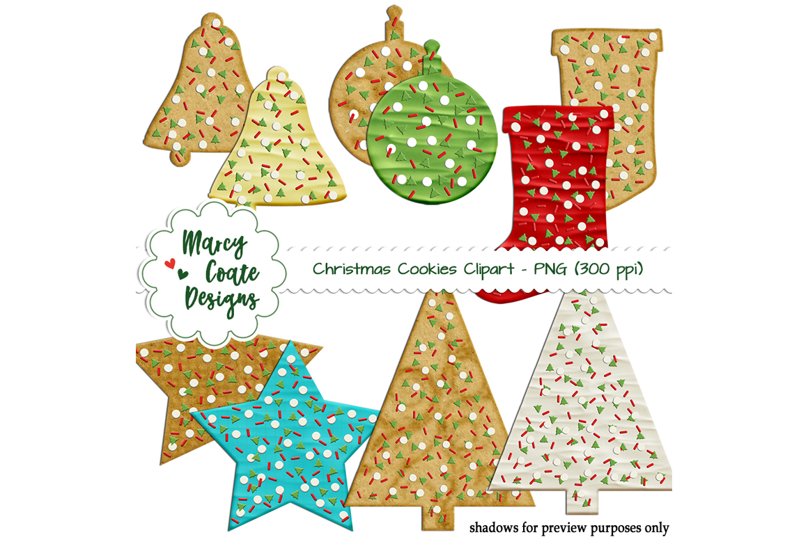 Download Free Christmas Sugar Cookies Graphic By Marcycoatedesigns Creative for Cricut Explore, Silhouette and other cutting machines.