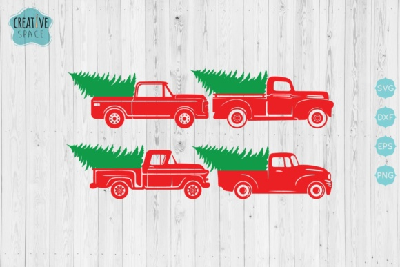 Christmas Trucks & Cars Bundle Graphic Crafts By creativespace - Image 3