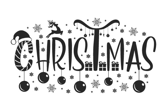 Jolly Christmas SVG Cut File Download