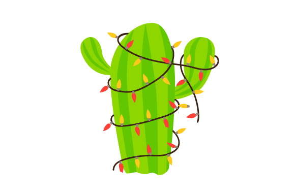 Download Free Christmas Cactus Svg Cut File By Creative Fabrica Crafts for Cricut Explore, Silhouette and other cutting machines.