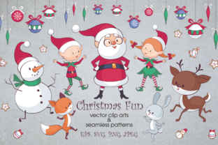 Christmas Fun Bundle Graphic By Olga Belova
