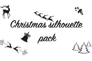 Christmas Silhouette Pack Graphic By hamelinckmichael