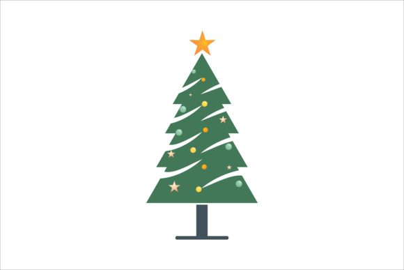 Christmas Tree Icon (Graphic) By LeisureProjects