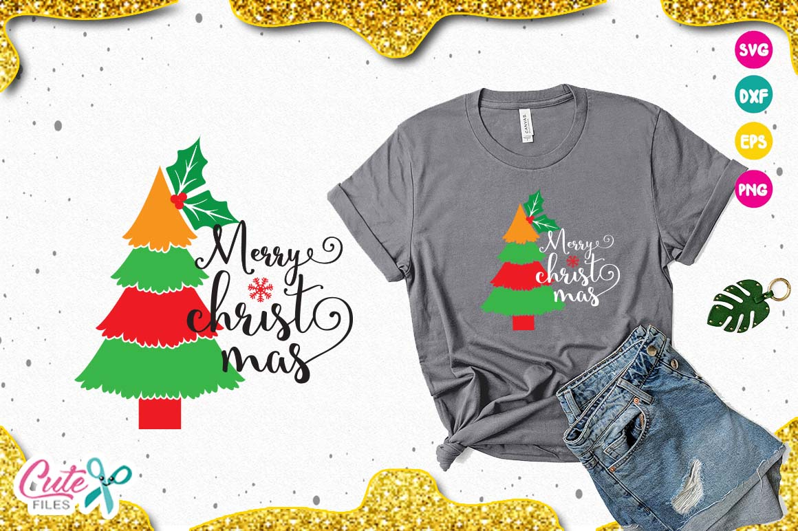 Download Free Christmas Tree Svg Graphic By Cute Files Creative Fabrica for Cricut Explore, Silhouette and other cutting machines.