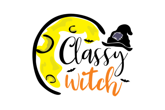 Print on Demand: Classy Witch Graphic Crafts By TheLucky
