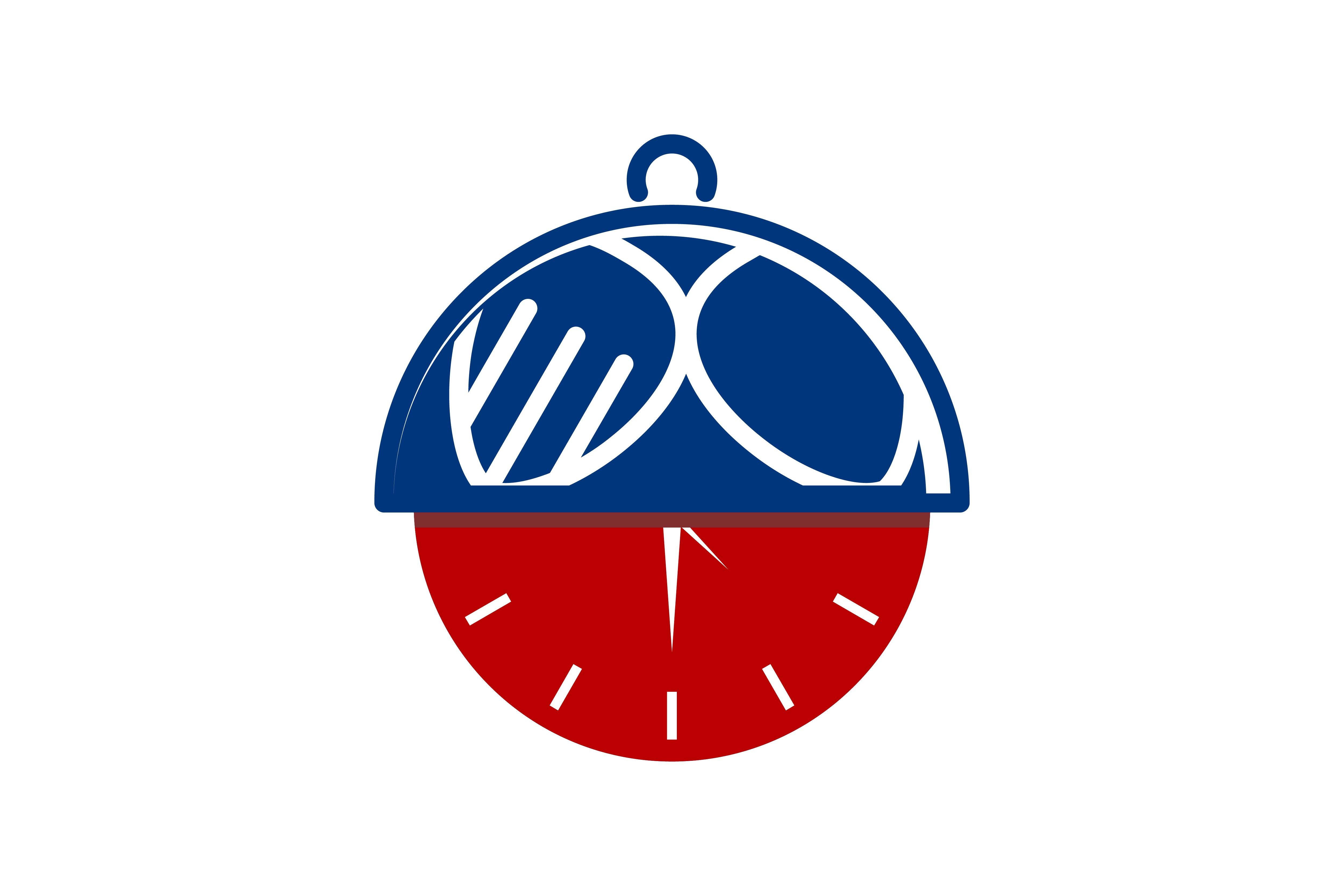Download Free Clock And Cover Plate Logo Graphic By Yahyaanasatokillah for Cricut Explore, Silhouette and other cutting machines.