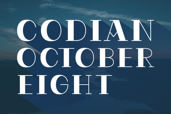 Codian October Eight Serif Font By Situjuh