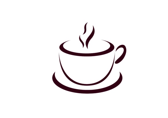 Download Free Coffe Cafe Logo Graphic By Deemka Studio Creative Fabrica for Cricut Explore, Silhouette and other cutting machines.