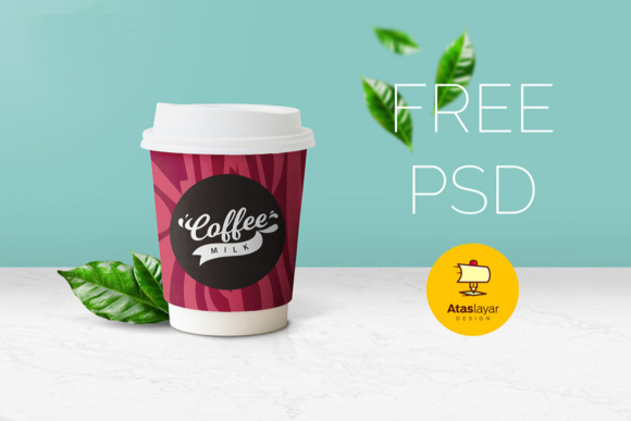 Coffee Cup Mockup Graphic Product Mockups By Creative Fabrica Freebies