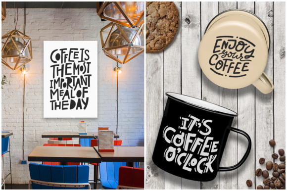 Coffee Lovers Graphic Illustrations By Favete Art - Image 4