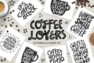 Coffee Lovers Graphic Illustrations By Favete Art