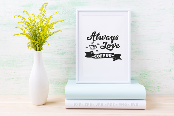 Download Free Coffee Quote Graphic By Collectype Creative Fabrica for Cricut Explore, Silhouette and other cutting machines.