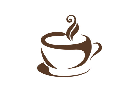 Download Free Coffee Tea Logo Graphic By Friendesigns Creative Fabrica for Cricut Explore, Silhouette and other cutting machines.