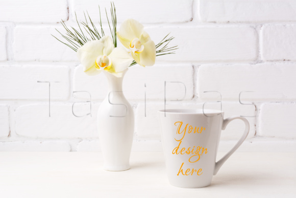 Print on Demand: Coffee Mug Mockup Bundle Graphic Product Mockups By TasiPas - Image 2