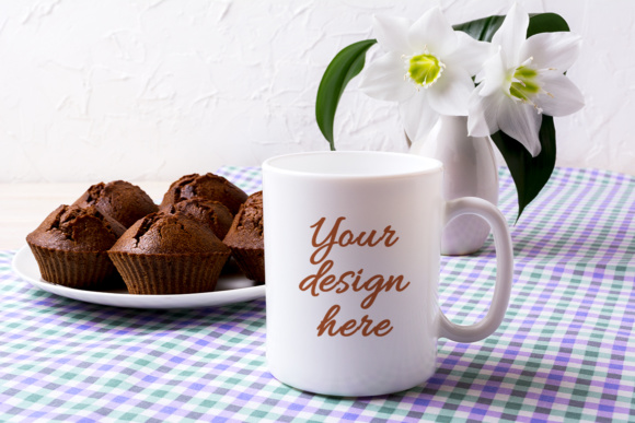 Print on Demand: Coffee Mug Mockup Bundle Graphic Product Mockups By TasiPas - Image 11