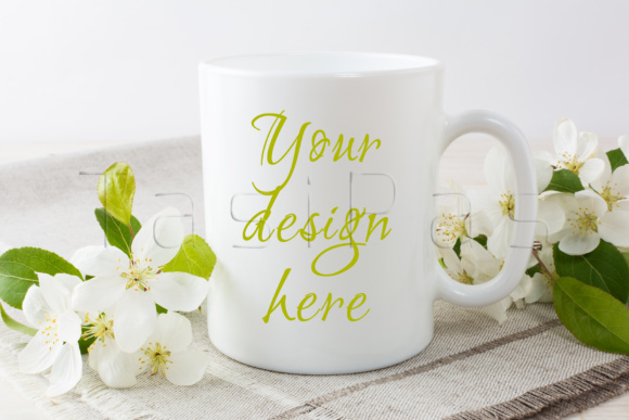 Print on Demand: Coffee Mug Mockup Bundle Graphic Product Mockups By TasiPas - Image 5