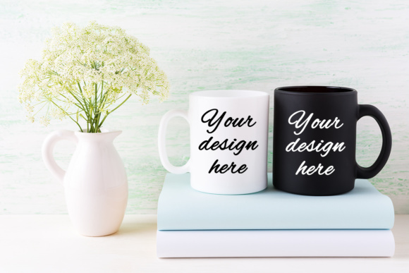 Print on Demand: Coffee Mug Mockup Bundle Graphic Product Mockups By TasiPas - Image 8
