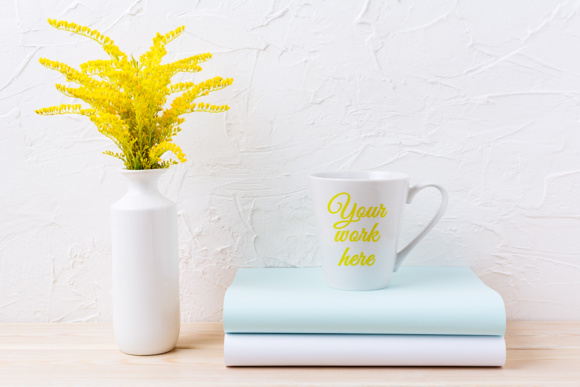 Print on Demand: Coffee Mug Mockup Bundle Graphic Product Mockups By TasiPas - Image 9