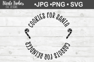 Download Free Cookies For Santa Svg Cut File Graphic By Nicole Forbes Designs for Cricut Explore, Silhouette and other cutting machines.