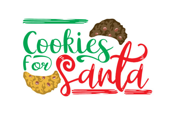 Download Free Cookies For Santa Graphic By Thelucky Creative Fabrica for Cricut Explore, Silhouette and other cutting machines.