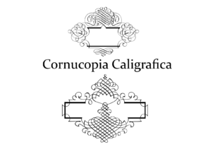 Cornucopia Caligrafica Display Font By Intellecta Design