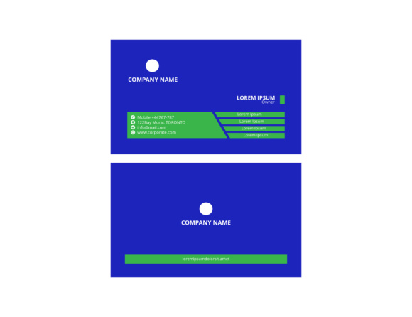 Print on Demand: Creative and Clean Business Card Template Graphic Print Templates By meisuseno