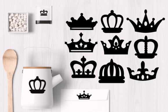 Print on Demand: Crown Graphic Illustrations By Revidevi