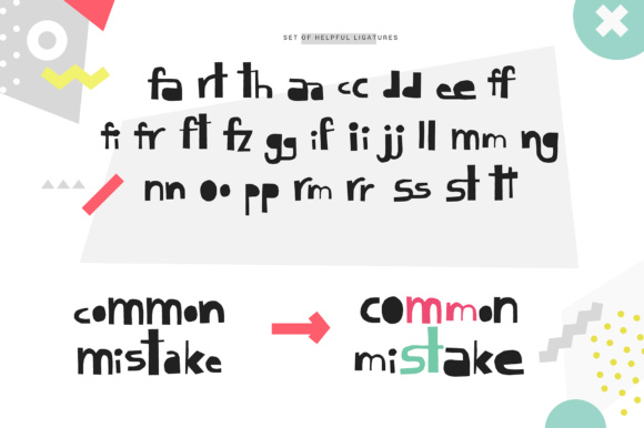 Print on Demand: Cutout Display Font By Favete Art - Image 4