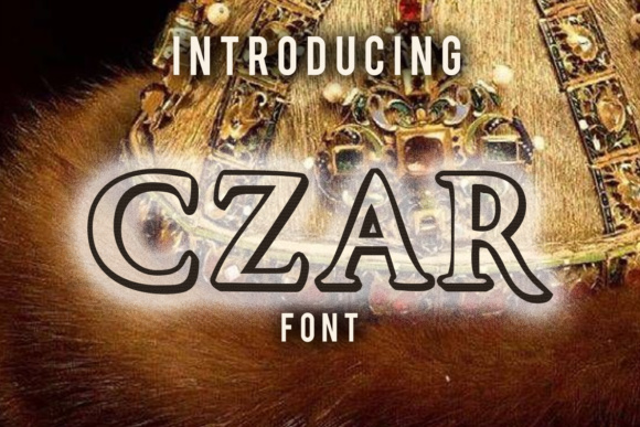 Print on Demand: Czar Serif Font By vladimirnikolic - Image 1