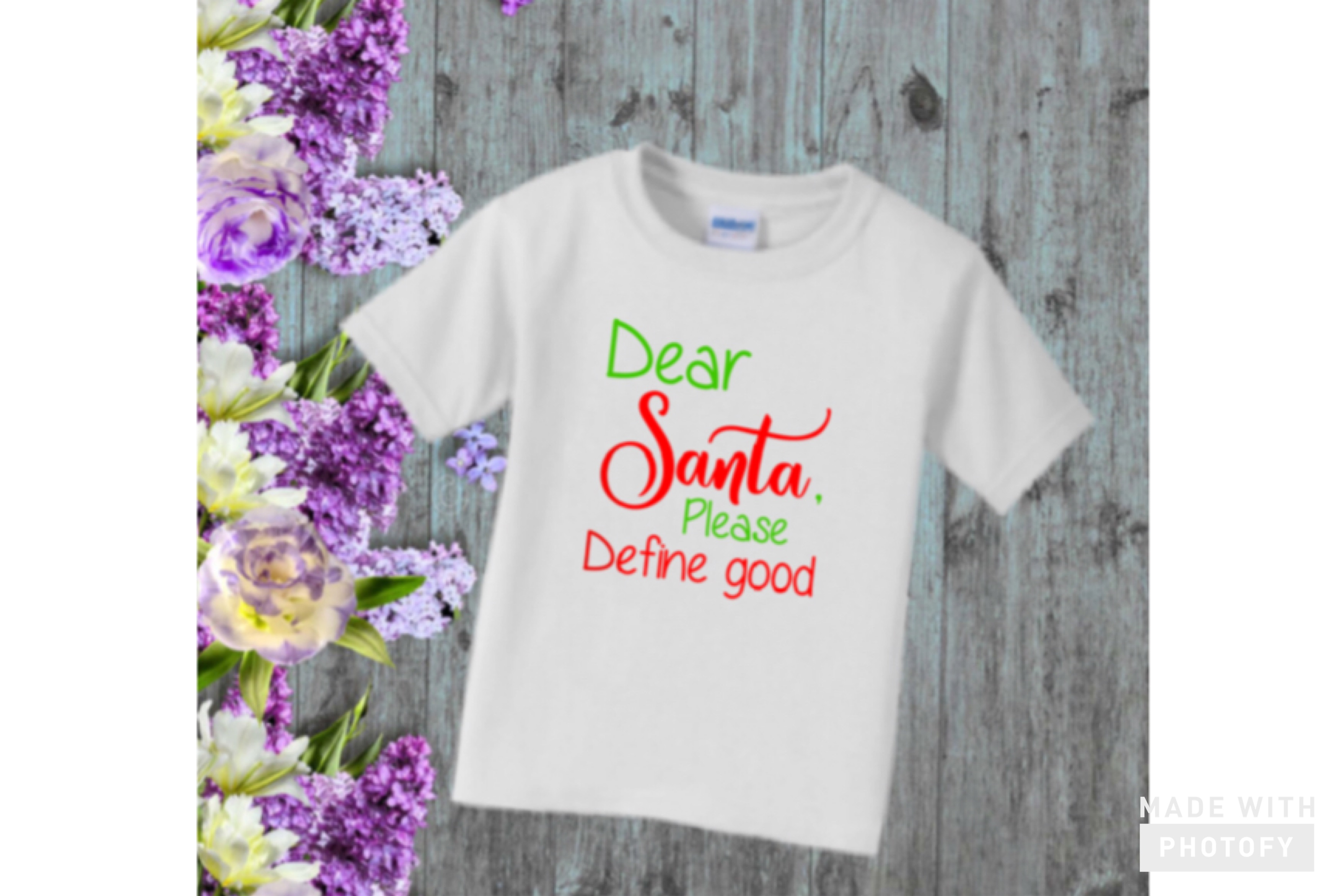 Download Free Dear Santa Please Define Good Svg Graphic By Britt S Hits for Cricut Explore, Silhouette and other cutting machines.
