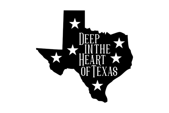 Download Free Deep In The Heart Of Texas Graphic By Studio 26 Design Co for Cricut Explore, Silhouette and other cutting machines.