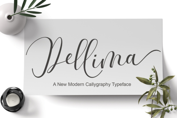 Print on Demand: Dellima Script & Handwritten Font By Polem