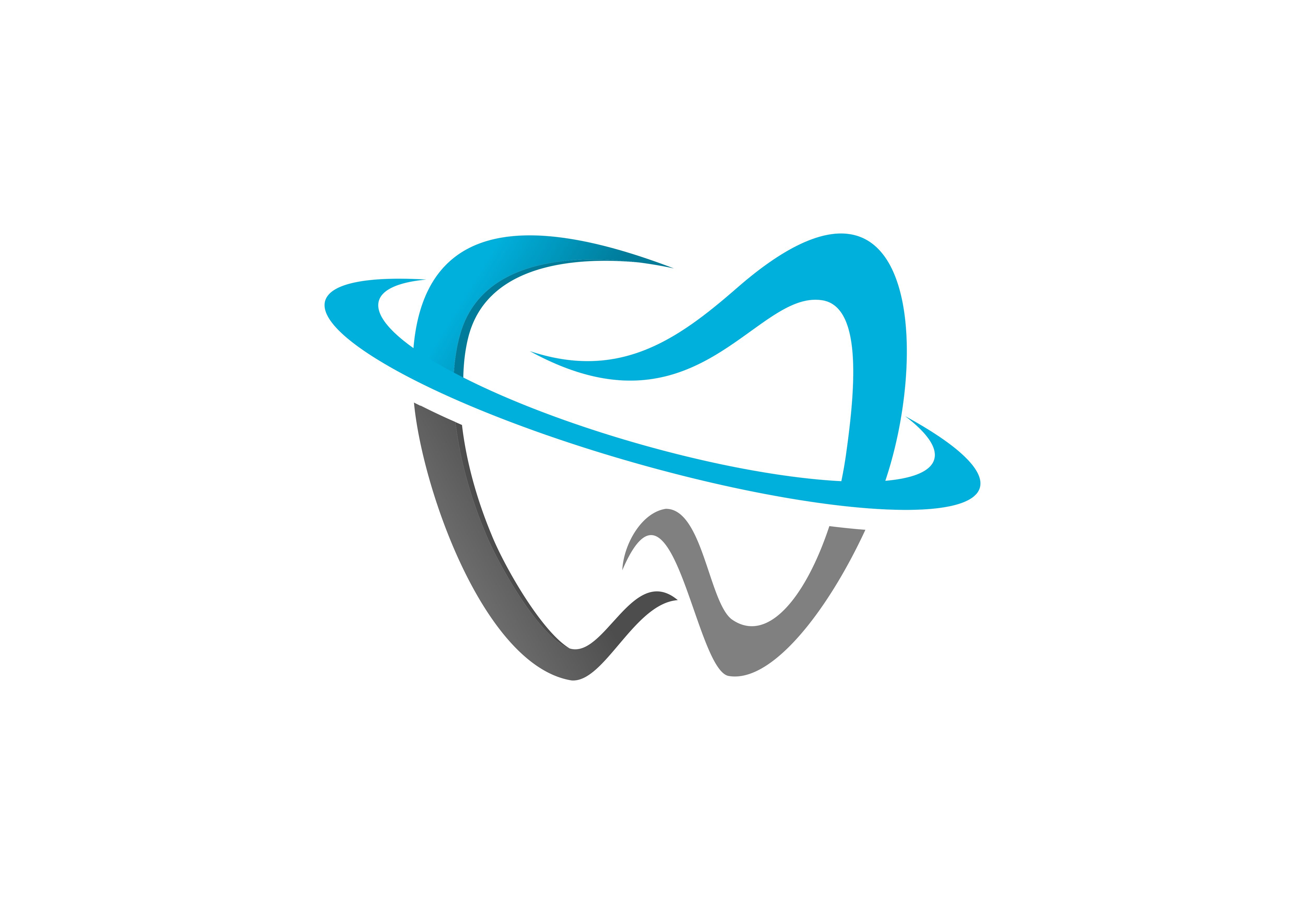 Download Free Dental Tooth Logo Graphic By Deemka Studio Creative Fabrica for Cricut Explore, Silhouette and other cutting machines.