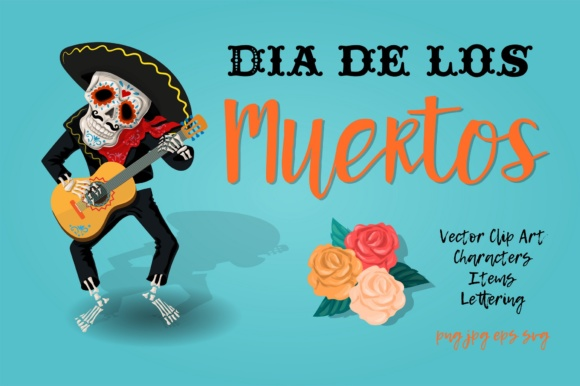 Print on Demand: Dia De Los Muertos Graphic Illustrations By nicjulia