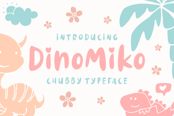 Print on Demand: Dinomiko Script & Handwritten Font By Keithzo (7NTypes)