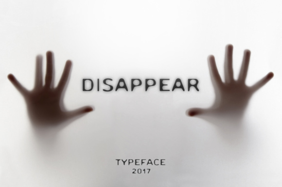 Print on Demand: Disappear Sans Serif Font By Cosmic Store