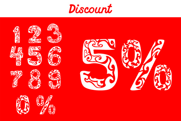 Print on Demand: Discount Number Bundle Graphic Illustrations By Arief Sapta Adjie