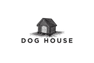 Download Free Dog House Logo Grafico Por Yahyaanasatokillah Creative Fabrica for Cricut Explore, Silhouette and other cutting machines.