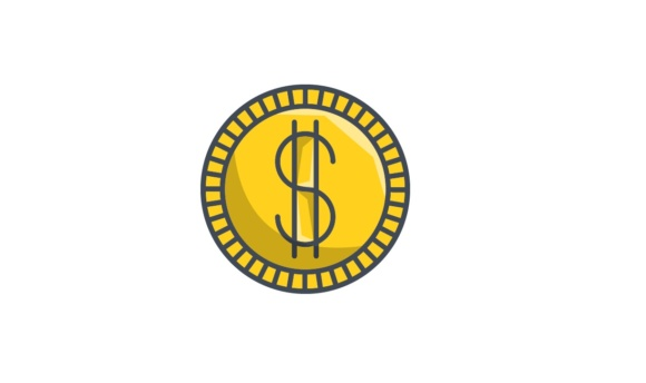 Download Free Dollar Coin Graphic By Iconika Creative Fabrica for Cricut Explore, Silhouette and other cutting machines.