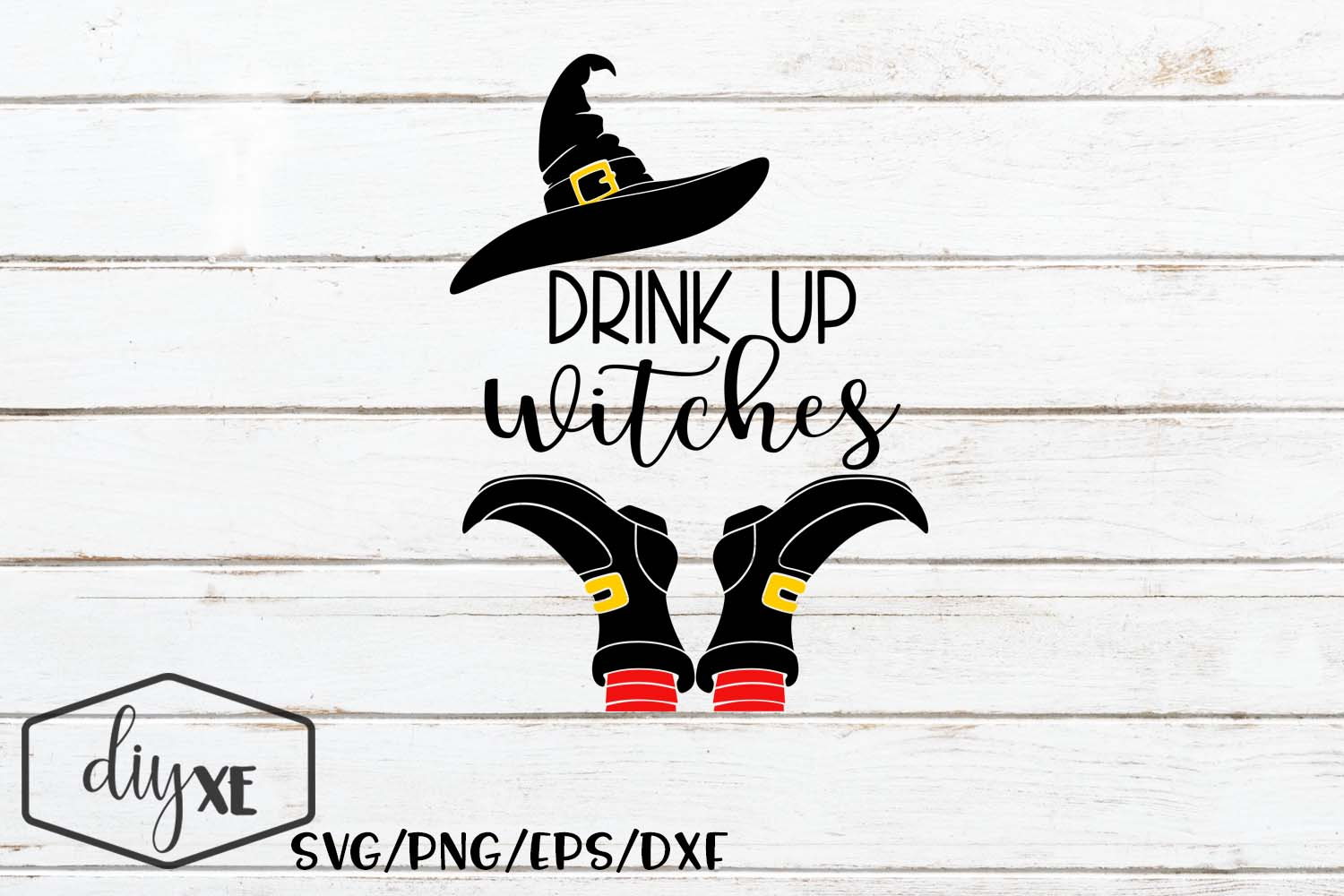Download Free Drink Up Witches Graphic By Sheryl Holst Creative Fabrica for Cricut Explore, Silhouette and other cutting machines.