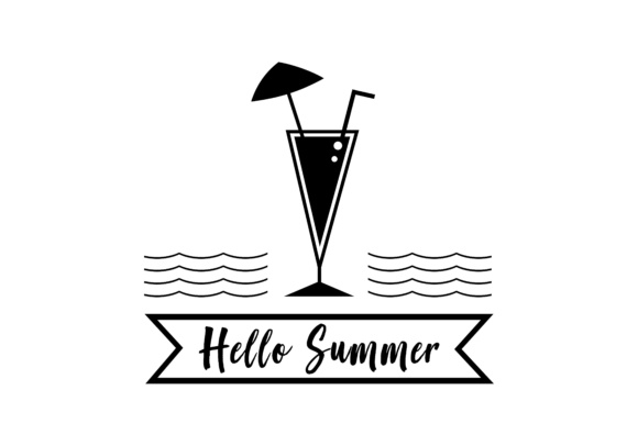 Drink, Summer Logo Graphic Logos By DEEMKA STUDIO