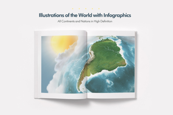 Earth Illustrations & Infographics Graphic Infographics By Gianluca Giacoppo