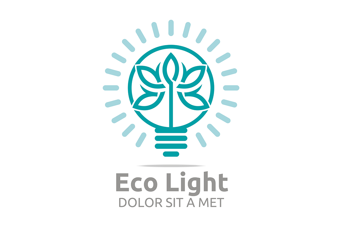 Download Free Eco Light Bulb Graphic By Acongraphic Creative Fabrica SVG Cut Files
