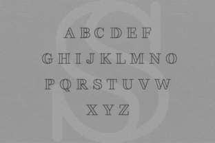 Print on Demand: Fakedes Serif Font By Creative Fabrica Freebies 5
